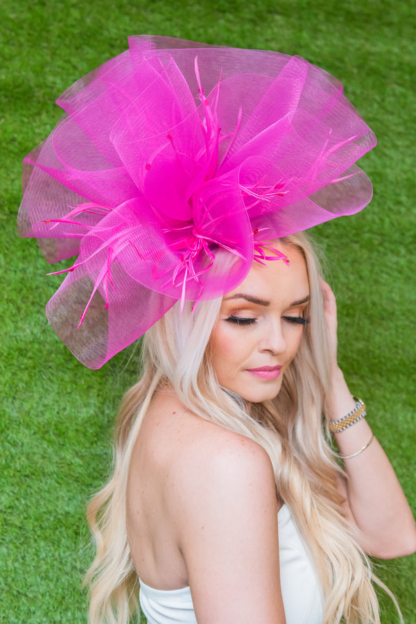 Pink Lilly Fascinator