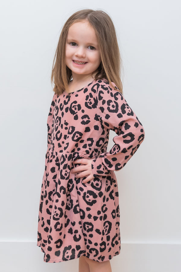 Gracie Whiskers Dress- Girls