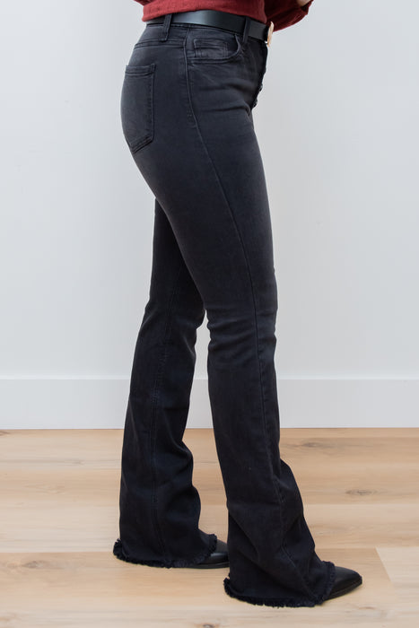 Women Wearing I Need Tempo Flare Jeans