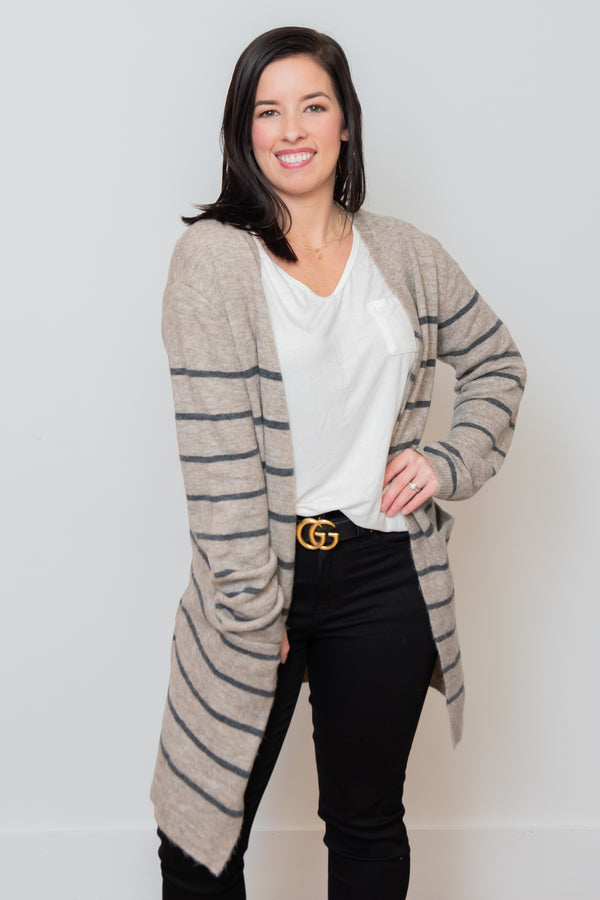 Women Wearing Easy Livin Cardigan