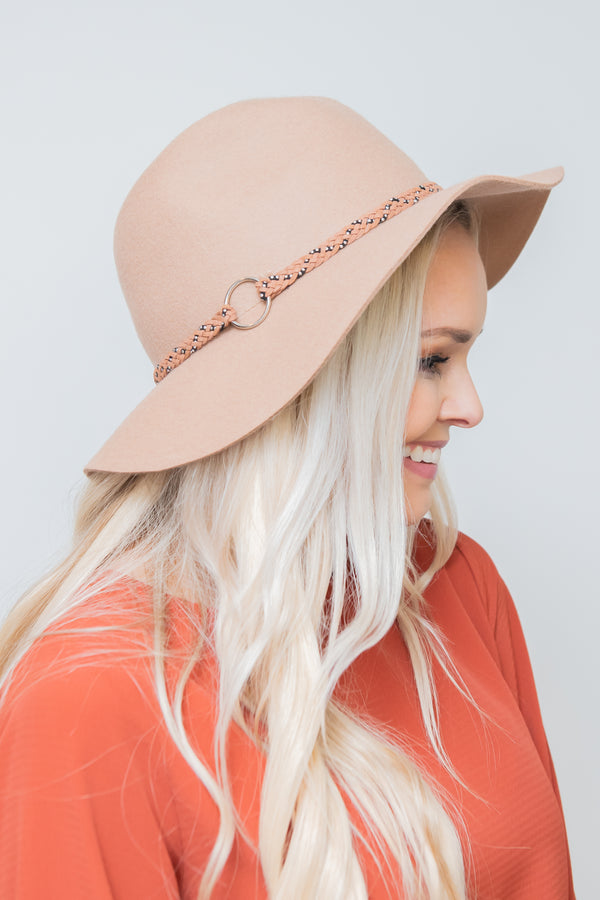 New Age Floppy Felt Hat
