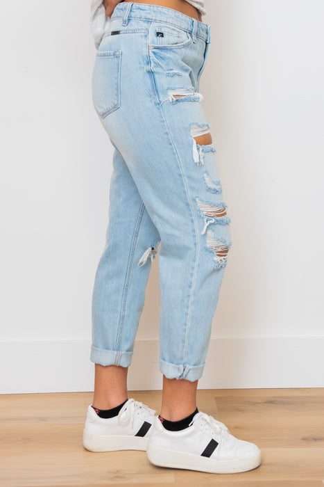 Throwback Boyfriend Jeans