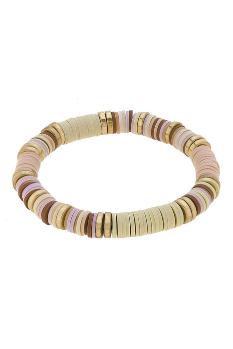 Emberly Color-Block Bracelet in Blush