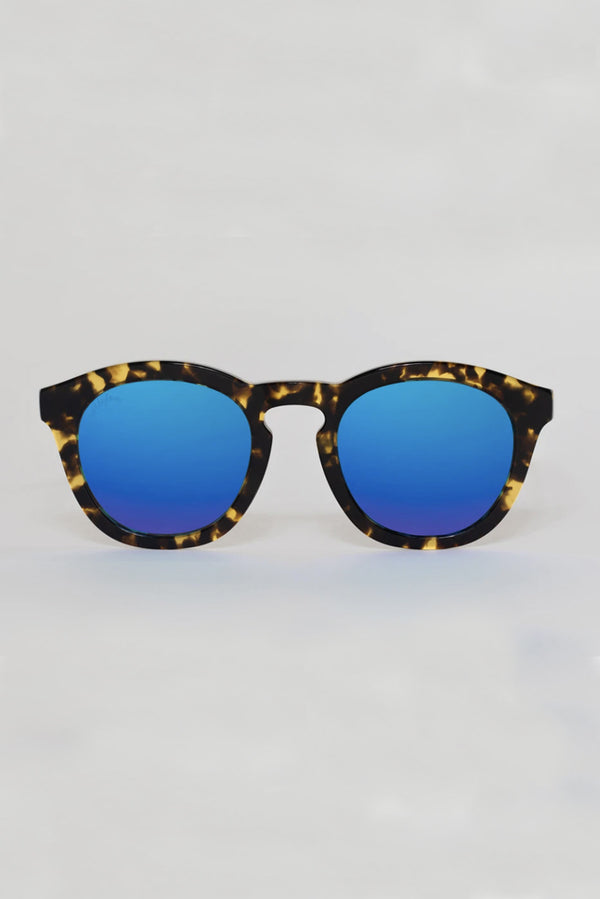Blue Val Acetate Framed Sunglasses