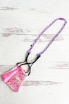Purple Plastic Link Breakaway Kids Lanyard