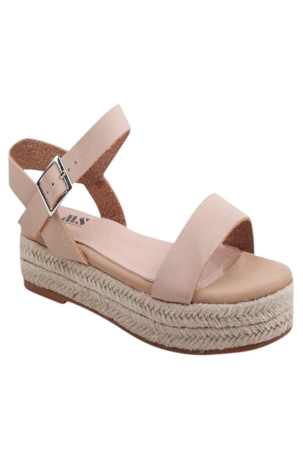 Kinsley Sandals- Nude