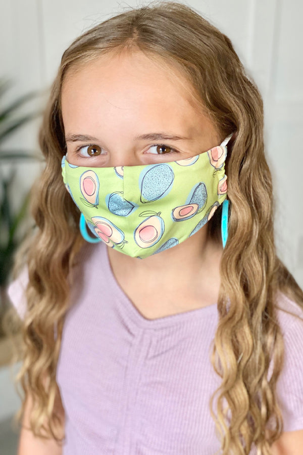 Avocado Next Level Kids Mask