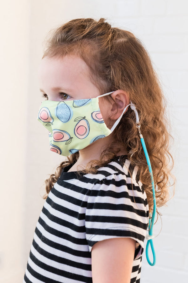 Avocado Next Level Kids Mask from PinkTag