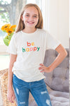 Be Happy Kids Tee
