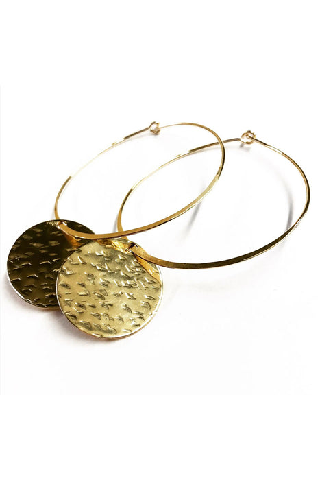 Cassidy Hoop Earrings From PinkTag