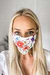 Dahlia Flower Simple Mask Adult