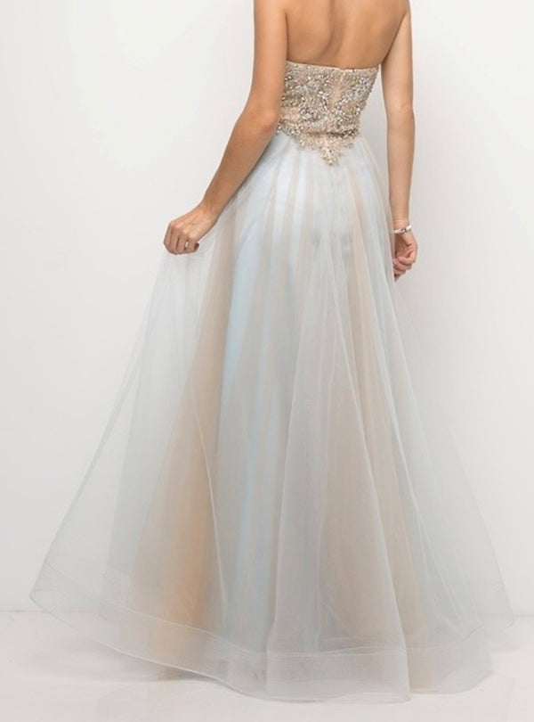 Tan Dare to Dream Gown