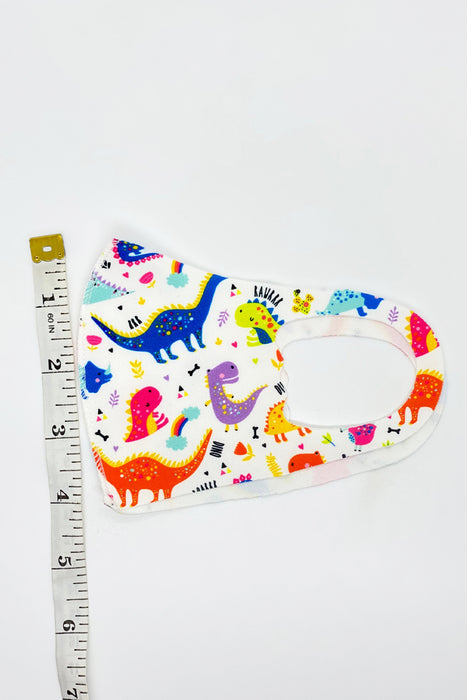 Dinosaur Kids Stretch Mask 3-pack From PinkTag