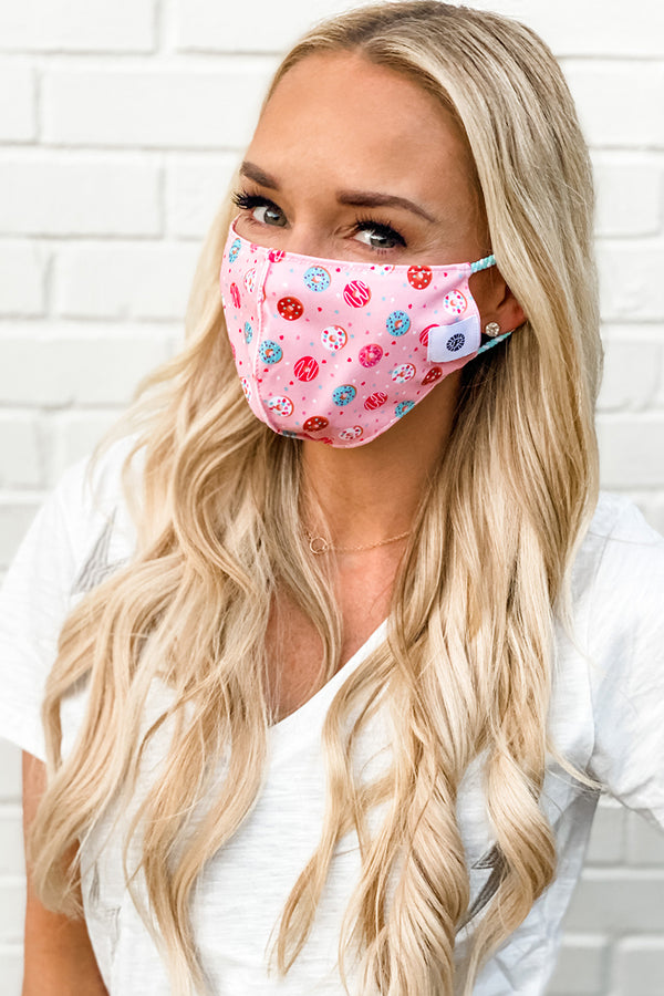 Donuts Simple Masks- 2-Pack