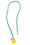 Turquoise Emoji Stretch & Shine Kids Lanyard