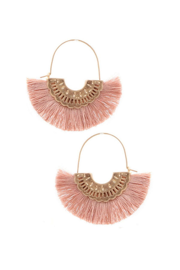 Pink Feel The Allure Earrings