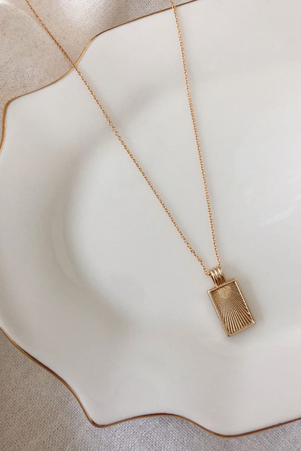 Frame Necklace (14K Gold Filled)