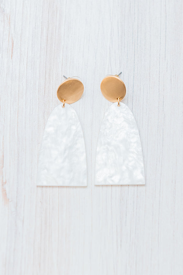 Full Moon Earrings