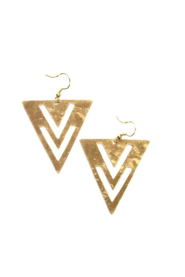 Golden Boho Earrings