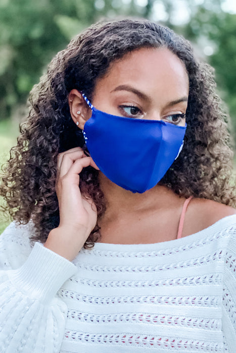 Blue Simple Mask From PinkTag