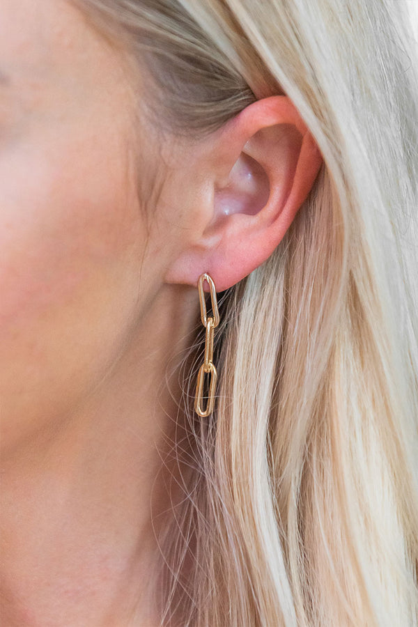 Krystal Chain Earrings
