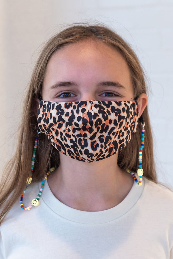 Leopard Next Level Kids Mask