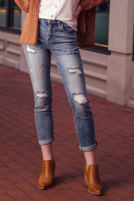 Like Me For Me Boyfriend Jeans