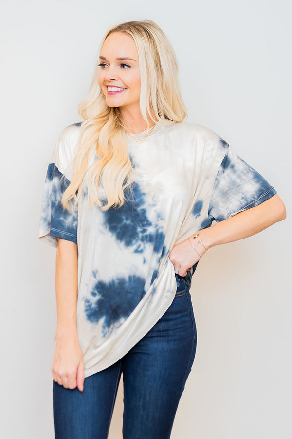 Make You Wonder Tie Dye Tee