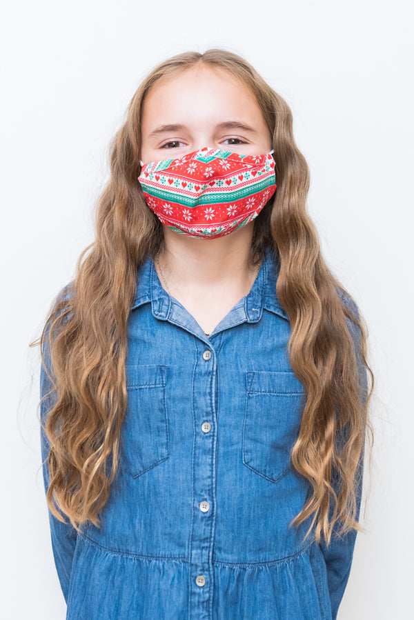 Under The Mistletoe Essential Kids Mask