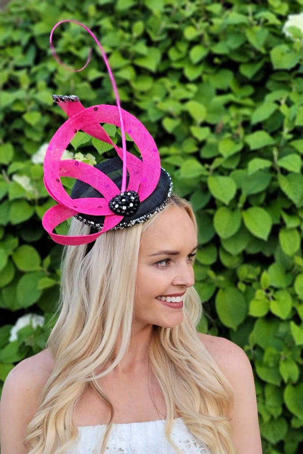Pink Couture Fascinator From Pink Tag