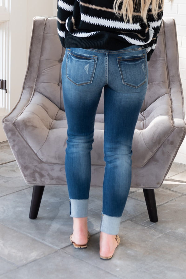 Pure Perfection Kancan Low Rise Skinny Jeans