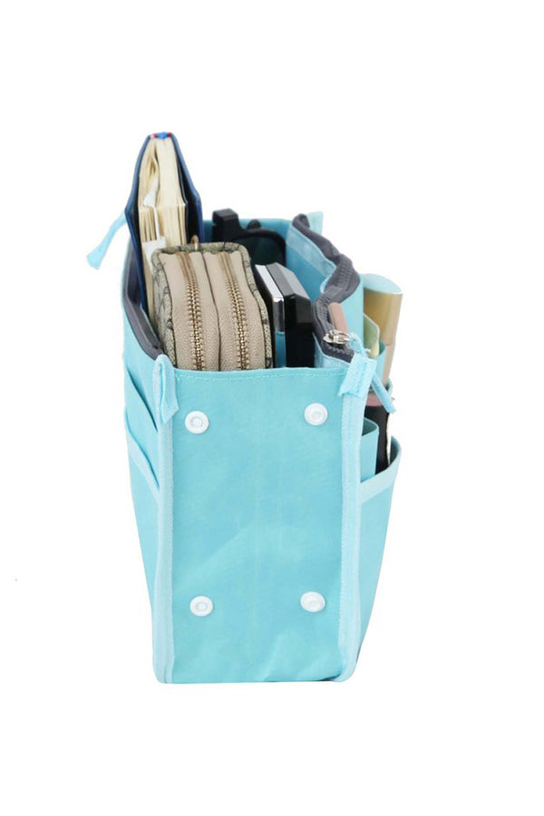 Small Handbag Organizer- Blue
