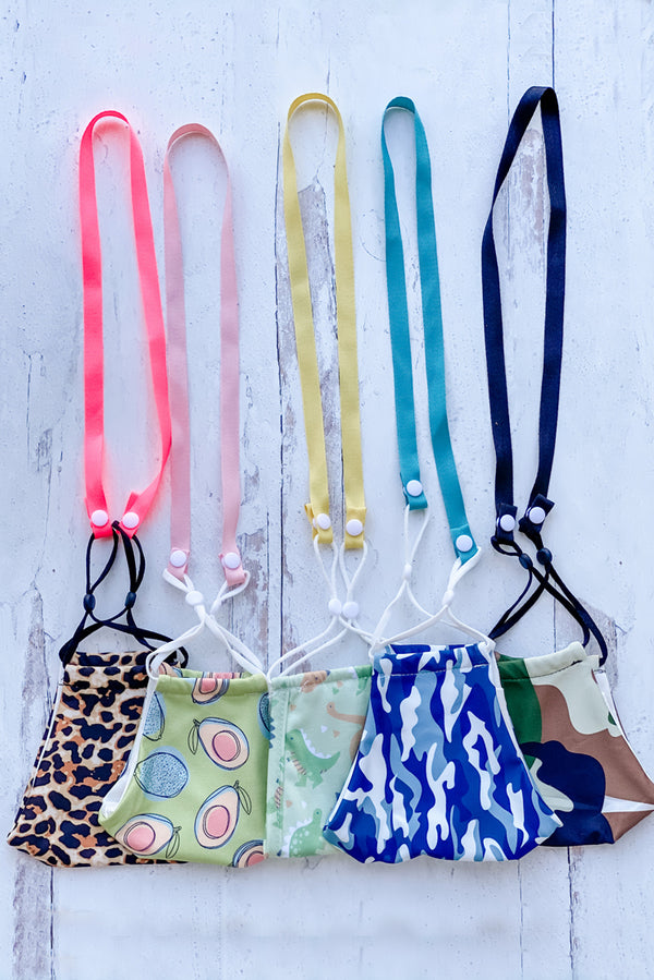 Simply Ribbon Mask Lanyards