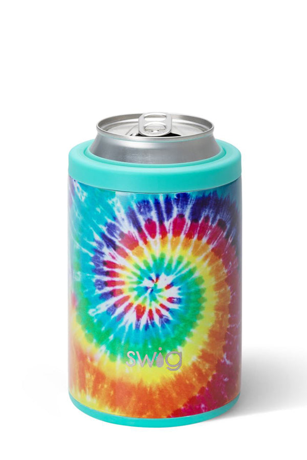 Swig Swirled Peace Combo Can and Bottle Cooler 12oz cans