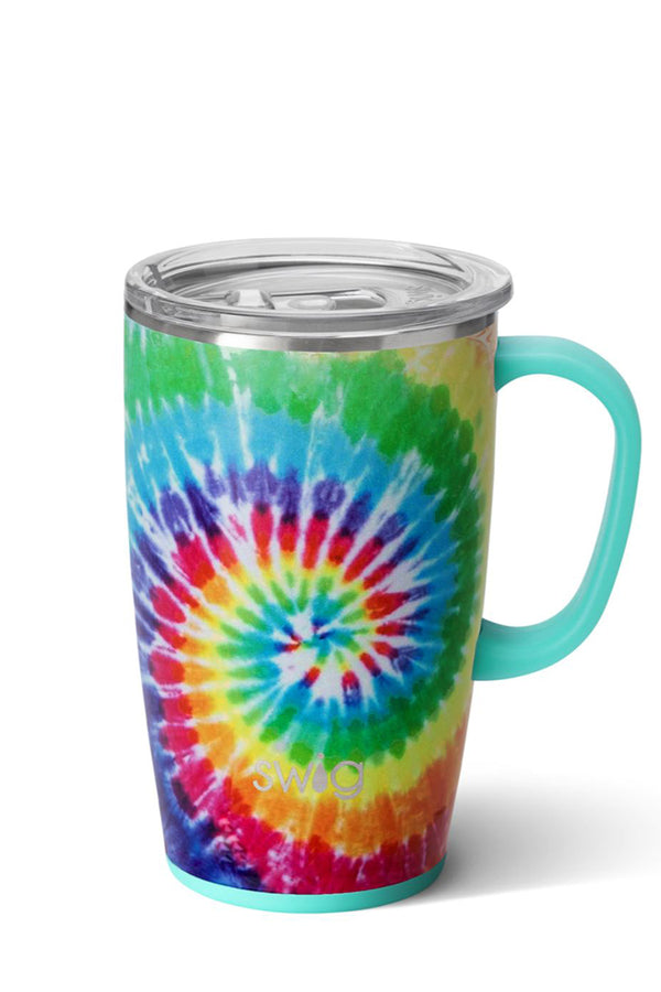 Swig Swirled Peace Travel Mug (18oz)