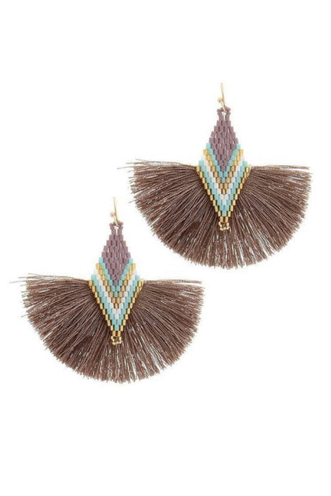Tell Your Tale Tassel Earrings