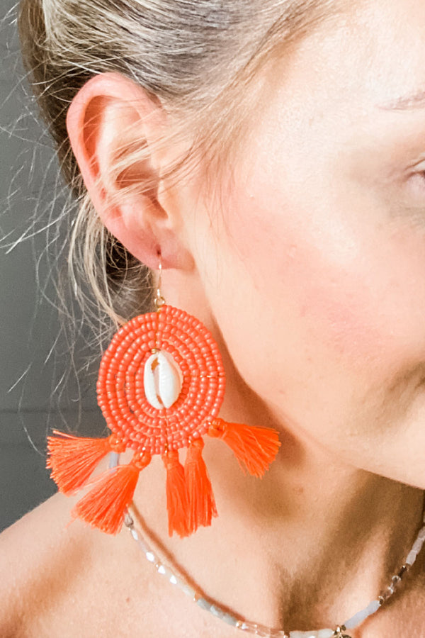 Vida Tassel Earrings