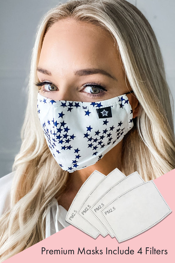 White Star Premium Mask - Includes 4 Filters