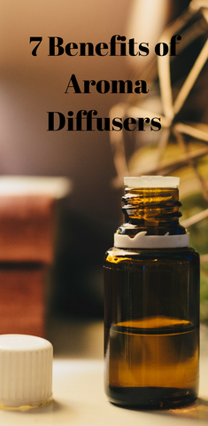 7 benefits of aroma diffusers