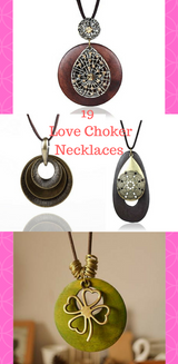 Love Choker Leather Rope Necklaces - Necklace