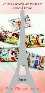 Printed Coin Purse/keys/phone Bag - Handbag