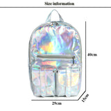 Holographic School Backpacks in 6 Colors - Star-Elegant.com