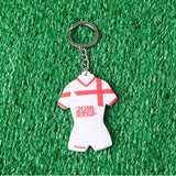 England Jersey Shaped World Cup Keychain - Key Chain
