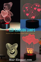 *cute* Teddy Bear With A Heart! - Night Light