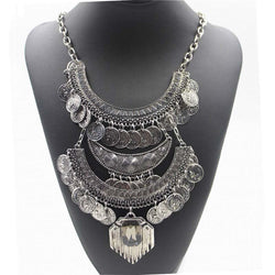 Boho Vintage Ethnic Statement Necklace