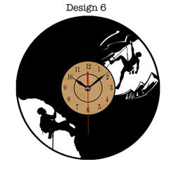 Creative Vinyl Record Wall Clock
