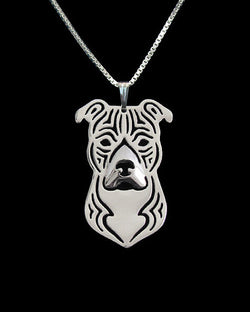Regal American Staffordshire Terrier Necklace