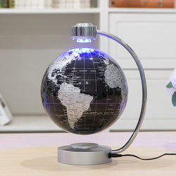 Magnetic Levitation Floating Globe with Light - Star-Elegant.com