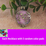 Antique Vintage Aroma Diffuser Necklace - 9
