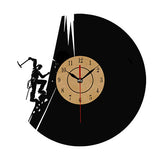 Creative Vinyl Record Wall Clock - T5727